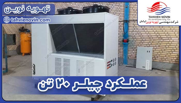 Specifications of 20 ton chiller